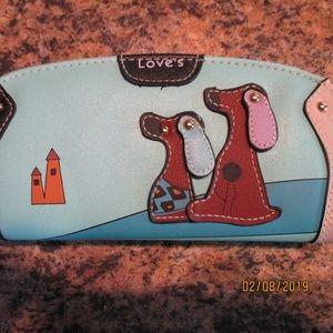 NWOT Zippered Clutch Wallet